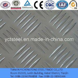 6061 Aluminium Checkered Plate with Good Anti-Skidding pictures & photos