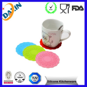 Good Quality OEM Food Grade Soft Silicone Cup Mats pictures & photos