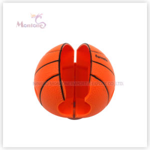 5.8*5.2*3cm Bathroom Ball-Shaped Wall Mount Toothbrush Holder with Suction Cup pictures & photos