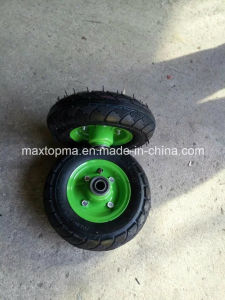 China Maxtop 250-4 Pneumatic Rubber Wheel pictures & photos