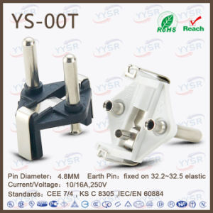 VDE Approved High Quality Germany Power Plug pictures & photos