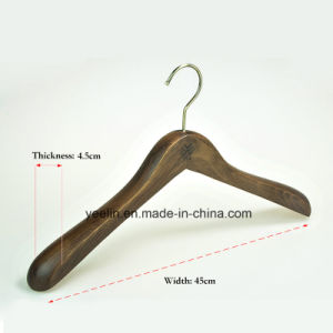 Garment Usage Wooden Clothes Hanger for Display (YL-yw30) pictures & photos