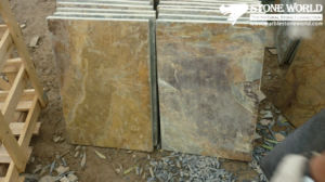 Rusty Slate Tiles for Wall/Flooring (mm090) pictures & photos