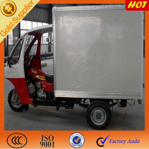 China 200cc Water Cooler Enclosed Cabin Box Tricycle pictures & photos