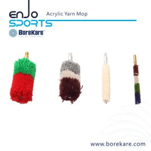 Gun Cleaning Acrylic Yarn Mop Bore Brush for Pistol pictures & photos
