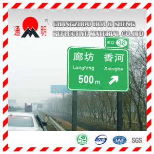 Traffic Sign with Pet Reflective Film (FG302) pictures & photos