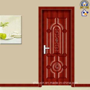 The Popular Black Spell Steel Wooden Door (sx-24-1080) pictures & photos