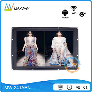 24 Inch Android 4.4 Multi Touch Screen Kiosk Android Network LCD Display pictures & photos
