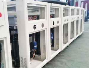 Winday Industral Air Cooled Screw Chiller with Single Compressor pictures & photos