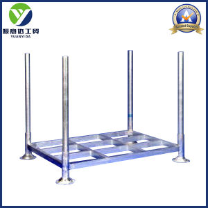2017 Galvanized Zinc Stackable and Collapsible Steel Post Pallets Racks pictures & photos