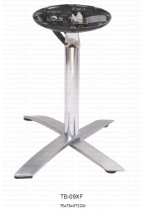 Commerical Use Aluminum Folded Table Base (TB-09XF) pictures & photos