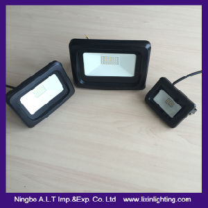 New Type Slim LED Flood Light with Arc Surface pictures & photos