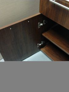 Red Oak Solid Wood Base Cabinets with Drawers SD021 pictures & photos