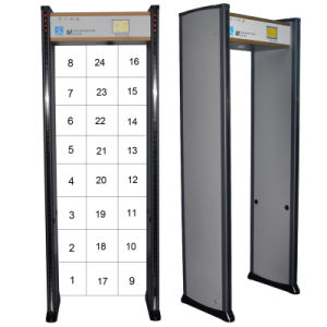 24 Zones Security Archway Door Frame Walk Through Metal Detector Gate Xld-G1 pictures & photos