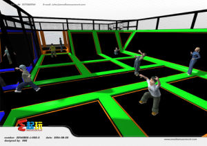 Professional Manufacturer of Trampoline Park pictures & photos
