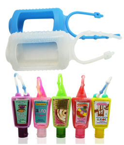 Promotional 30 Ml Silicone Hand Sanitizer Bottle Holder for Travel pictures & photos