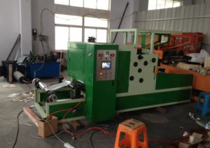 Household Aluminium Foil Cutting and Rewinding Machine (CE) pictures & photos