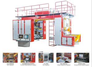 High Speed Mulic Colors Flexographic Printing Machine pictures & photos