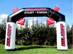 New Design Advertising Inflatable PVC Archways with Logo Printing, Opening/Start Business Arch Door K4079 pictures & photos