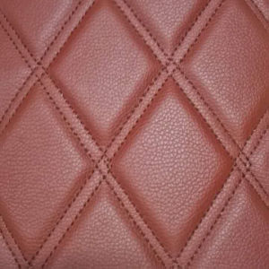 Diamond Pattern PVC Synthetic Leather for Car Floor Mat pictures & photos
