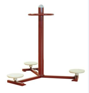 Double Waist Twister Outdoor Fitness Equipment