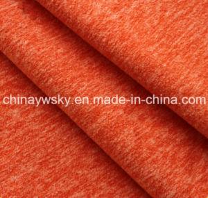 Color Melange Polar Fleece Fabric pictures & photos