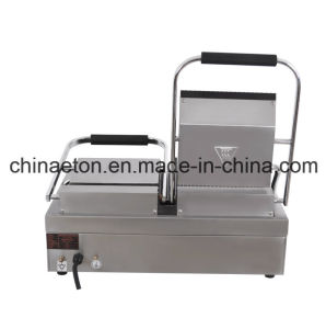 Double Grooved Plate Electric Contact Grill (ET-YP-2A1) pictures & photos
