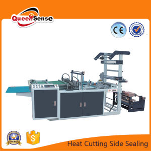 Automatic High Speed Plastic Side Sealing Bag Making Machine pictures & photos