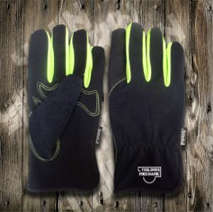 Synthetic Leather Glove-Working Glove-Safety Gloves-Labor Glove-Protective Glove pictures & photos