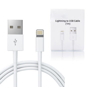 1m/2m USB Data Cable for iPhone iPad pictures & photos