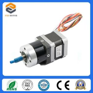 NEMA 17 Geared Stepper Motor with Gearbox (FXD42H240-120-18) pictures & photos