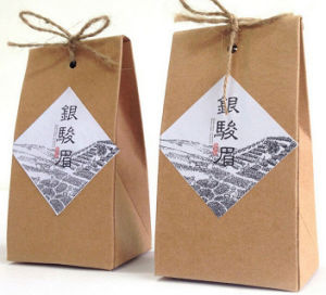 Recycled Kraft Paper Tea Packaging Bags (PB-026) pictures & photos