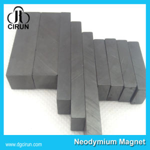 China Custom Size Block Hard Ferrite Magnet pictures & photos
