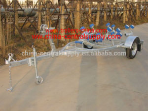 Factory Made Manufacturer Sale 4.1m Boat Trailer with Roller System CT0410b pictures & photos