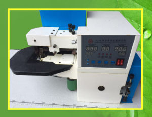 Used Automatic Computerized Leather Cementing and Folding Edge Machine Jl-685 pictures & photos