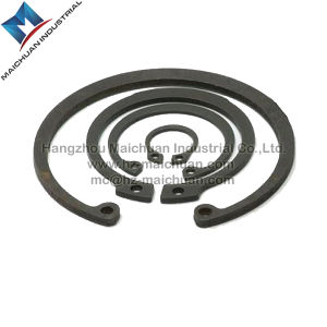 Stainless Steel Internal Retaining Ring for Bore DIN472 Fastener Factory pictures & photos