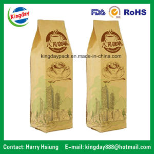 Kraft Paper & Flat Bottom Coffee Bag