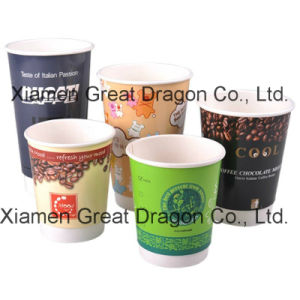 1.5-32 Ounce Hot Beverage Paper Cups and Lids (PC11018) pictures & photos