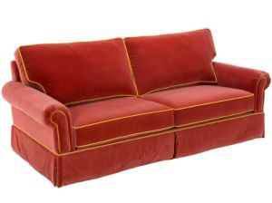 Stylish High Quality American Style Red Fabric Sofa (BM-11) pictures & photos