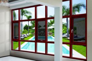 Aluminum Window with Frame for Ghana pictures & photos