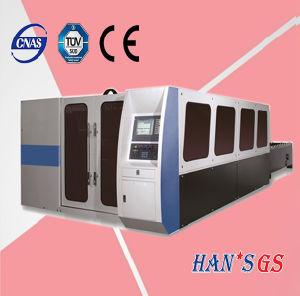 1000W Wuhan Stainless Steel Carbon Steel Plate Fiber Laser Cutting Machine for Sale pictures & photos