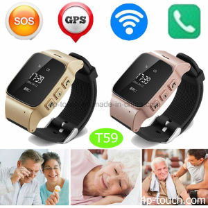 Newest Elderly GPS Tracker Watch with Sos Button T59 pictures & photos
