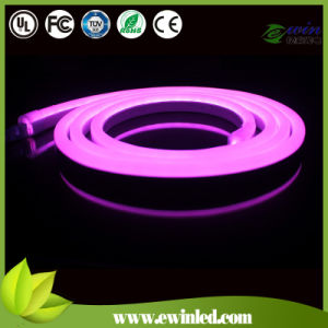 D Shape and Double Coating LED Neon Strip with Pink pictures & photos