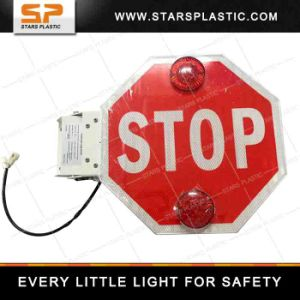LED Stop Sign on School Bus pictures & photos