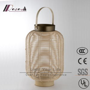 Chinese Hotel Decorative Natural Rattan Hanging Pendant Lamp pictures & photos