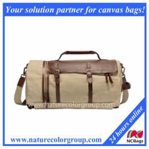 Waxed Canvas Travel Duffel Bag Backpack pictures & photos