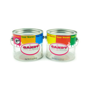 Top-Quality Clear Candy Tin Pails pictures & photos