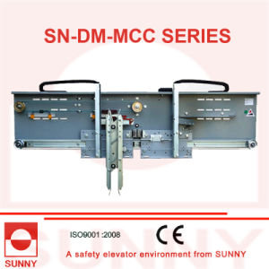 Mitsubishi Type Door Machine 2 Panels Center Opening with Monarch Inverter (synchronous, SN-DM-MCC) pictures & photos