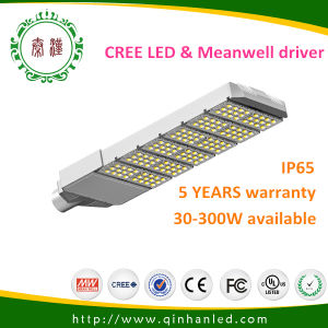 High Quality IP65 240W LED Street Light (QH-STL-LD180S-240W) with Meanwell Driver pictures & photos