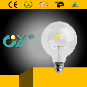 Ce RoHS SAA Approved E27 Filament G95 LED Bulb Light pictures & photos